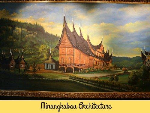 Painting from Minangkabau at Galeri Diraja