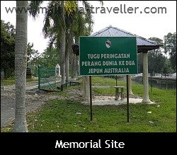 Entrance to Memorial Site
