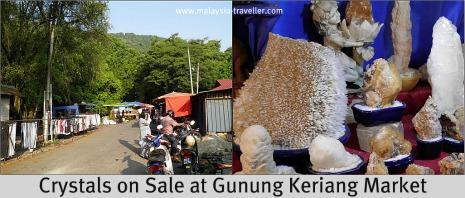 Gunung Keriang Market