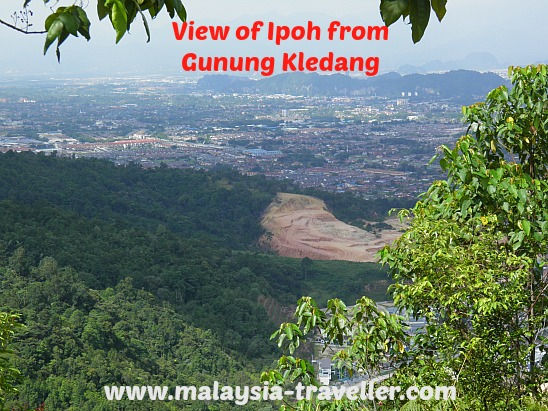 View of Ipoh from Gunung Kledang