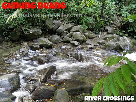 Gunung Nuang River Crossings