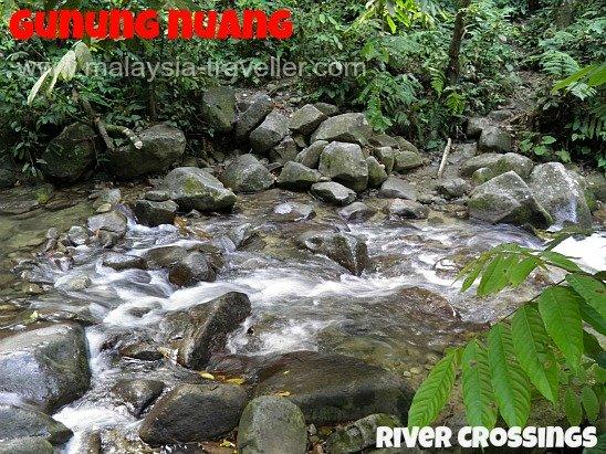 Gunung Nuang River Crossings