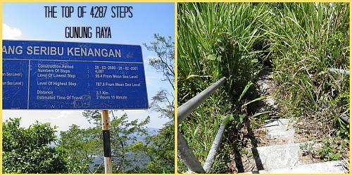 Gunung Raya steps