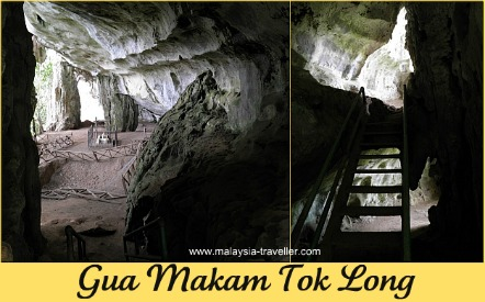 Makam Tok Long at Gunung Senyum Caves