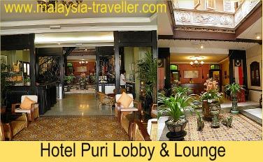Lobby Of the Hotel Puri