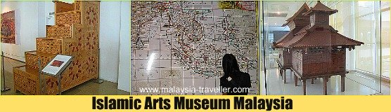 The Islamic Arts Museum Malaysia is well worth visiting.