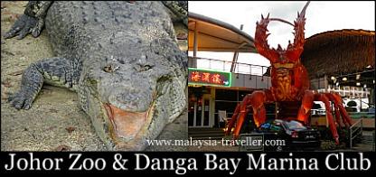 Johor Zoo & Danga Bay Marina Club