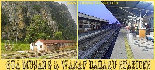 Gua Musang and Wakaf Bharu Stations