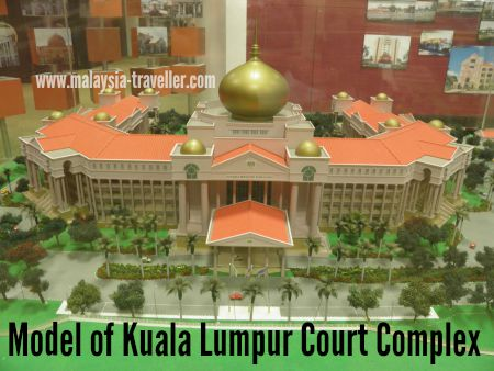 Model of KL Court Complex