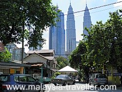 Kampung Baru is hemmed in by tall buildings