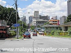 Here Kampung Baru meets Chow Kit