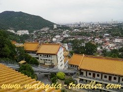 View of George Town from Kek Lok Si Temple
