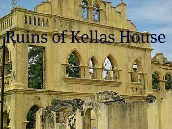 The remains of Kellas House