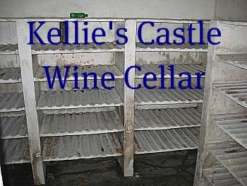 The underground wine cellar at Kellie's Castle