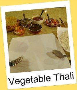 Vegetarian meal, Klang