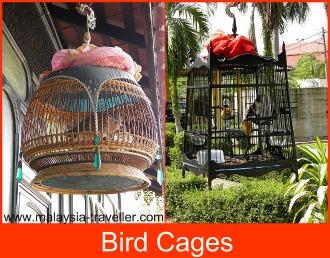 Bird cages at Kota Bharu