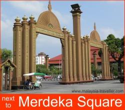 Gates near Merdeka Square, Kota Bharu