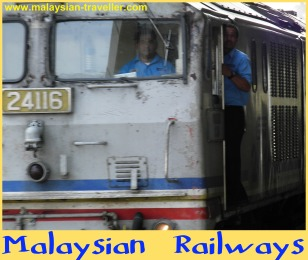 Malaysian railways diesel locomotive