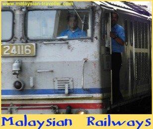 Malaysian railways diesel locomotive
