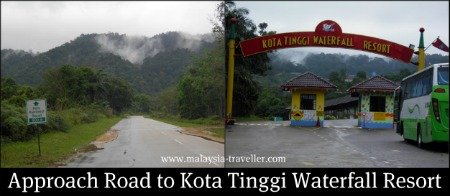 Entrance to Kota Tinggi Waterfall Resort