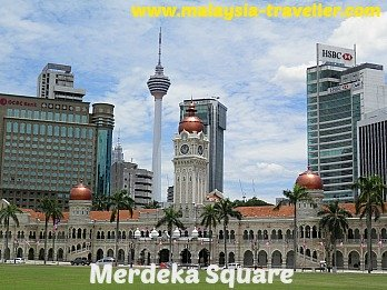 Kuala Lumpur City Gallery is located on Merdeka Square