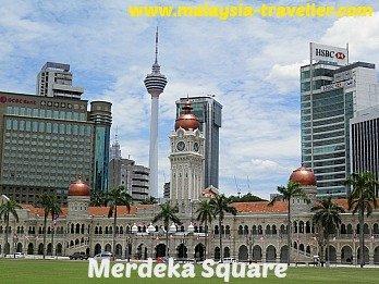 Kuala Lumpur City Gallery is located on Merdeka Square