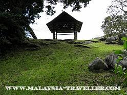 Mound on Bukit Melawati