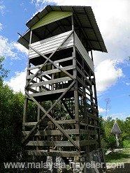 Watch Tower at Kuala Selangor Nature Park