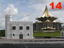 Square Tower, Kuching