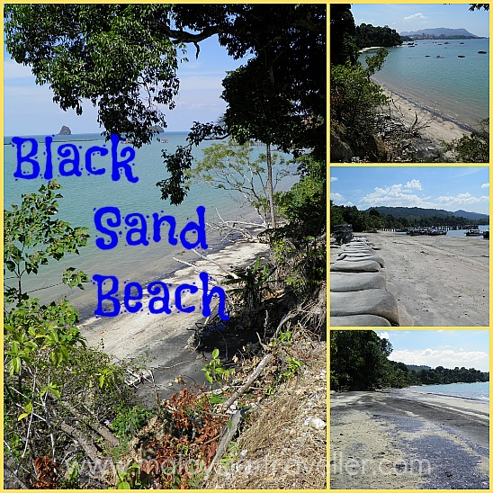 Langkawi Beaches Black Sand Beach