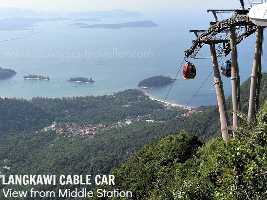 Langkawi Cable Car Middle Station