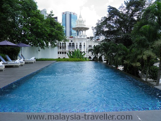 Swimming Pool at theMajestic Spa