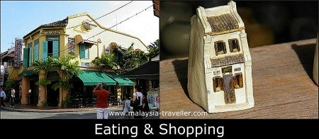 Places to Eat and Shop in Jonker Street