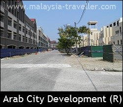 Arab City is nearing completion