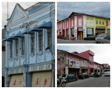 Colour Coded Streets in Muar