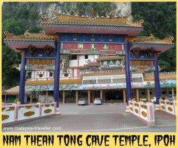 Nam Thean Tong Cave Temple, Ipoh, Perak