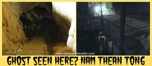 Did I see a ghost here at Nam Thean Tong?