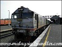 Gemas Railway Station