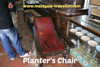 Planters Chair for sale at Old House Museum, Taiping
