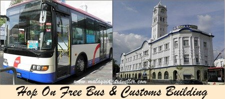 A free bus if you can find a driver who will let you get on.