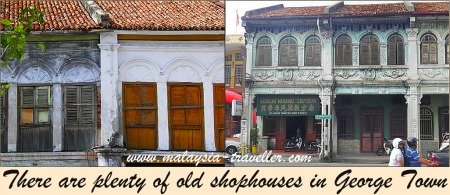 Shophouses in Penang