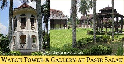 Watch Tower at Pasir Salak Historical Complex