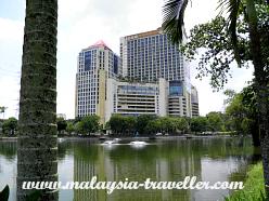 View of Amcorp Mall from Taman Jaya