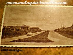 Jalan Selangor in the 1950s