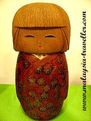 Kokeshi Doll at Petaling Jaya Museum