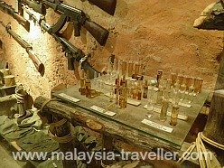 Medicine vials and terrorist weapons