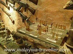 Medicine vials and terrorist weapons