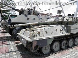 Armoured Vehicles at Port Dickson Army Museum