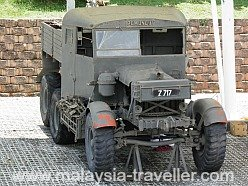 Old army lorry.