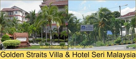 Golden Straits Villas Beach Resort & Hotel Seri Malaysia